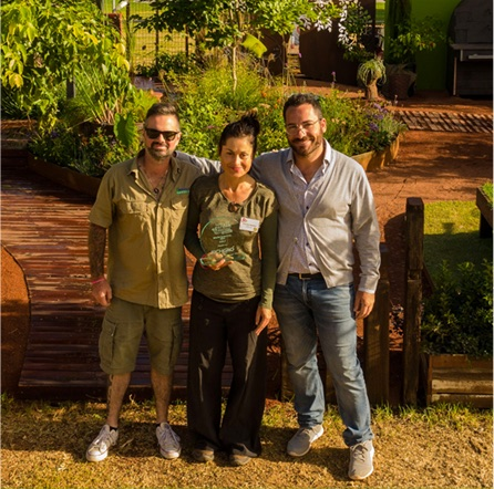 The Alessio's Gardens team finished at the Perth Garden Festival showing what a garden makeover can look like